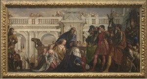 Alexander Greeting The Family Of Darius After The Battle Of Issus by Veronese